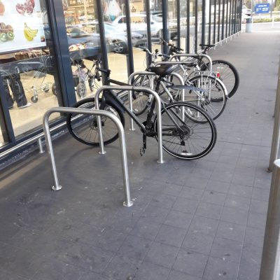Aldi supermarket tops the league in cycle parking facilities