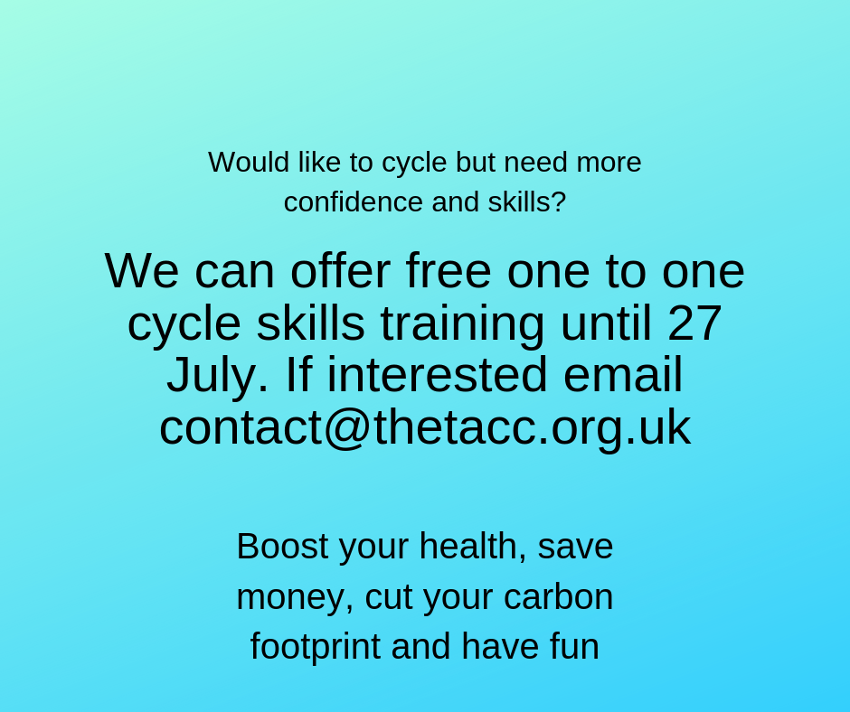 Want the confidence to cycle?