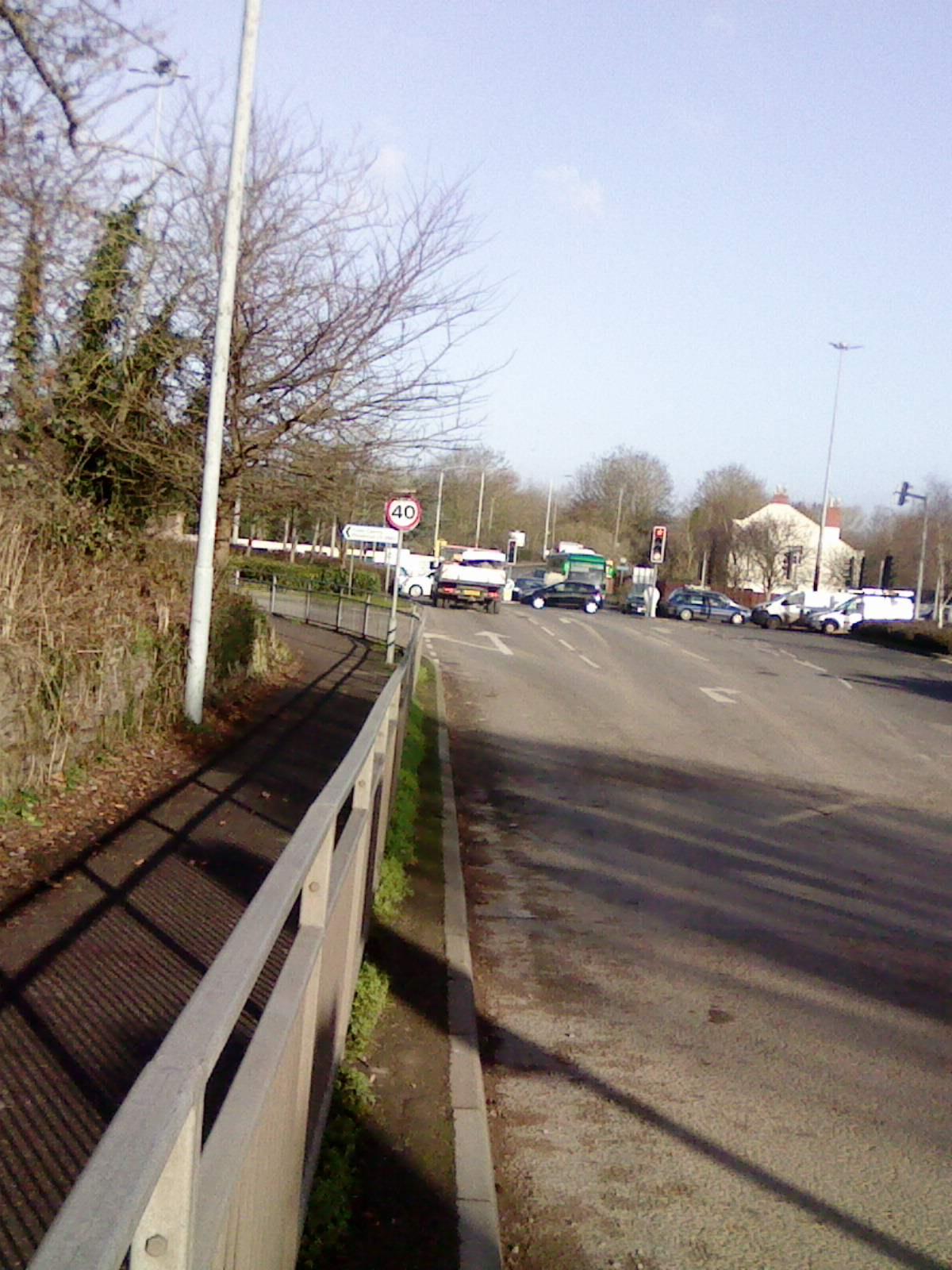 Hotspot: Creech Castle junction