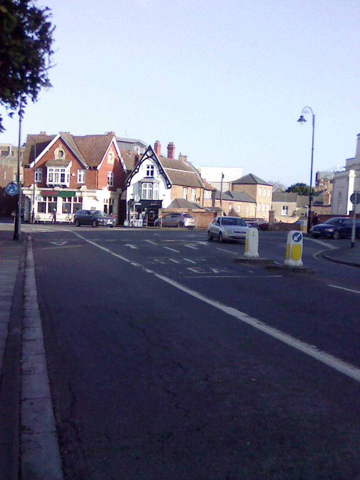 Hotspot: Crescent Corporation Street roundabout