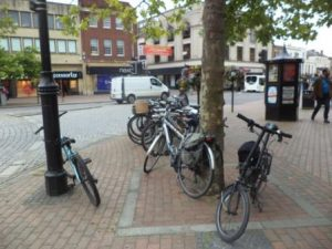 Cycling in and to Taunton not always easy according to survey conducted by TACC.