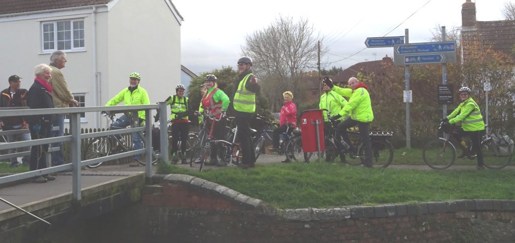 Sustrans held their annual regional meet-up with volunteers.